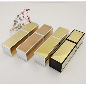 2020 New Mini Square Aluminum Perfume Empty Bottles